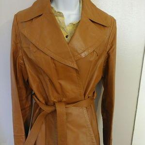 Women's Vintage 100% Leather Jacket